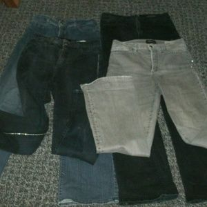 Not Your Daughters Jeans 4 Pairs Sz6 Embellished